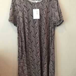 Large LuLaRoe Jessie dress brand new with tags